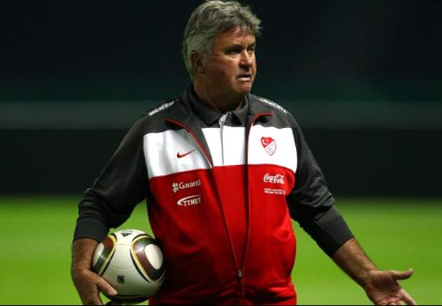 Turkey coach Guus Hiddink counting on Germany to beat Belgium in Group A