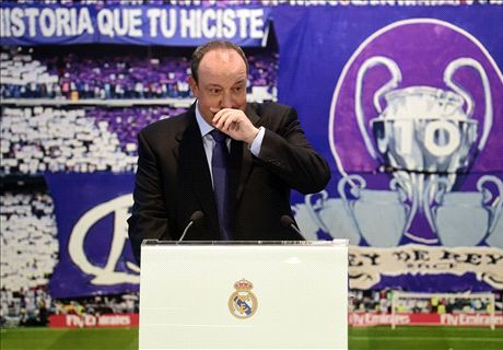 LIVE: Real Madrid unveil Rafa Benitez