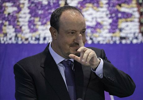 I want trophies, says tearful Benitez