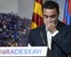 Xavi veut entraîner le Barça