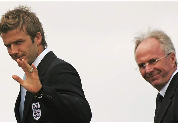 Sven-Goran Eriksson Mau Datangkan David Beckham Ke Al Nasr