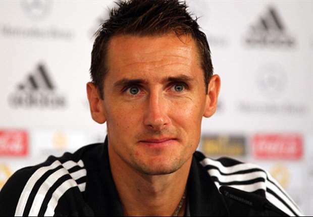 Klose espera aposentar-se após a Copa de 2014