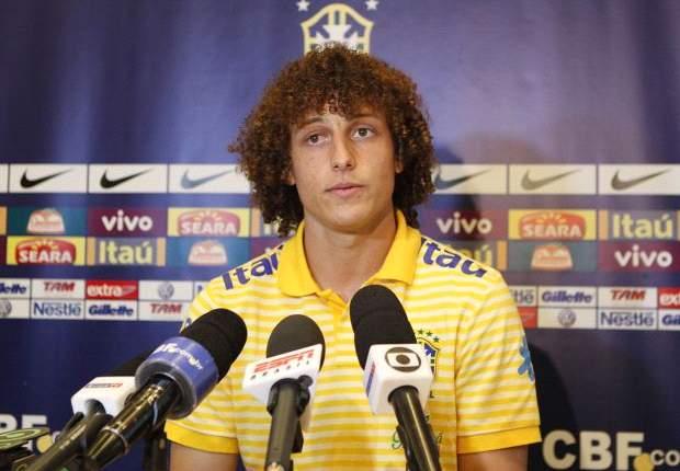 David Luiz Ingin Kapteni Brasil