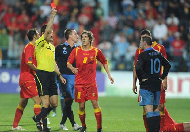 England manager Fabio Capello denies off-field problems were to blame for Wayne Rooney's red card against Montenegro