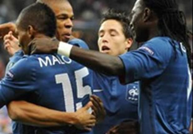 TEAM NEWS: Eric Abidal & Jeremy Menez start for France against Bosnia & Herzegovina in Euro 2012 qualifier