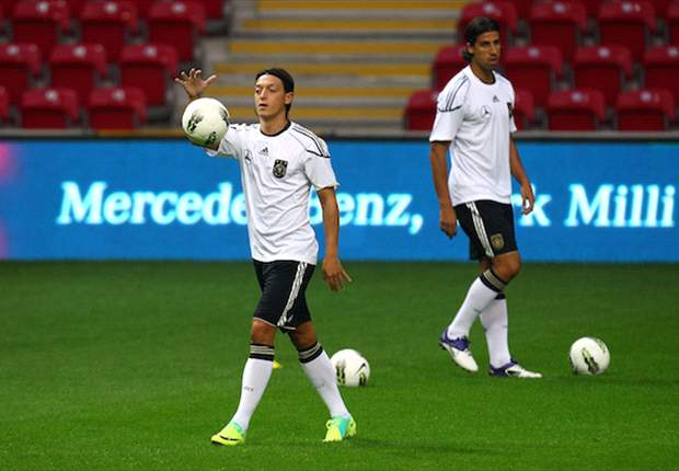 Real Madrid's Mesut Ozil hopeful of featuring in Germany's Euro 2012 qualifier against Belgium