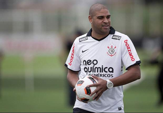 Adriano reveals offers to play in Brazil & elsewhere after leaving Corinthians