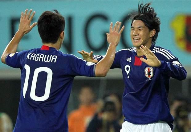 Tajikistan 0-4 Japan: Shinji Okazaki Nets Another Brace As Japan Prepare For Final Round