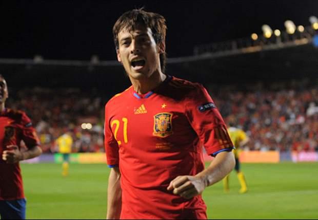 David Silva: España será el rival a batir en la Euro 2012, sin dudas