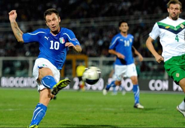 Italy 3-0 Northern Ireland: Cassano double ensures unbeaten Euro 2012 qualifying campaign for Prandelli's men