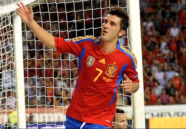 Del Bosque includes David Villa in Spain squad for Saudi Arabia and Georgia matches