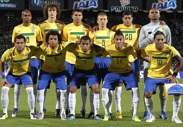 Brasil cai no Ranking de Seleções da FIFA