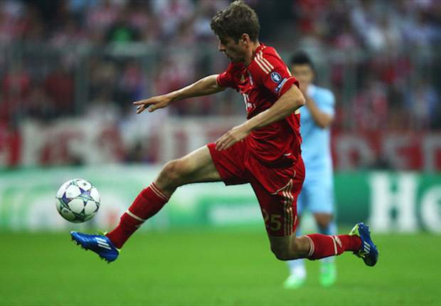 Bayern Munich's Thomas Muller: Winning the Champions League at the Allianz Arena would be a dream come true