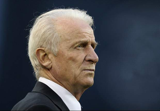 Republic of Ireland boss Giovanni Trapattoni: Napoli are favourites for the Serie A title