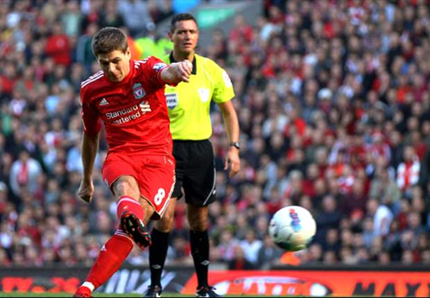 TEAM NEWS: Injured Steven Gerrard misses out for Liverpool at West Brom
