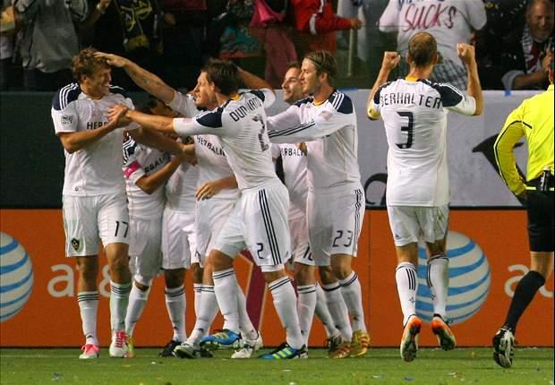 Los Angeles Galaxy 1-0 Chivas USA: Chad Barrett seals win for league leaders