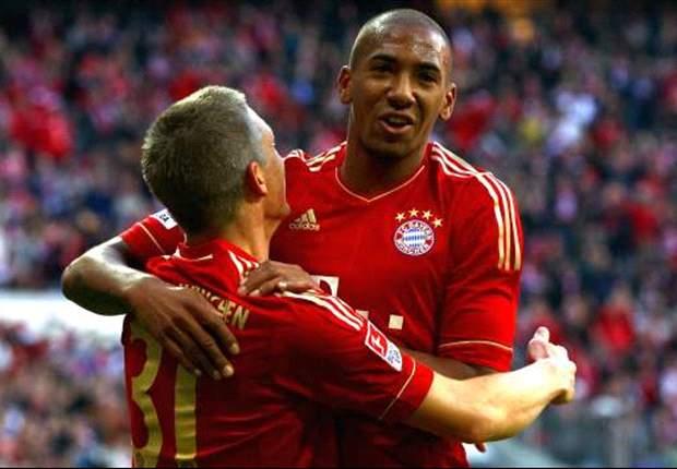 Bayern Múnich 3-2 Fortuna D.: Jerome Boateng salva a los locales