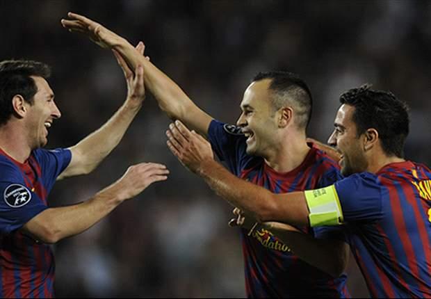 Para Thiago Alcântara, trio Messi, Xavi e Iniesta ocupa o mesmo patamar