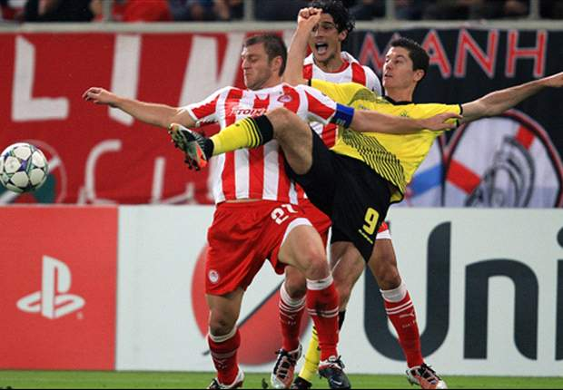 Olympiakos 3-1 Borussia Dortmund: Greek side condemn Bundesliga champions to damaging Group F defeat