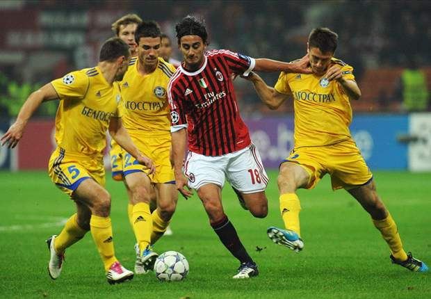 BATE Borisov's Viktor Goncharenko: AC Milan will bring the best out of us in Champions League