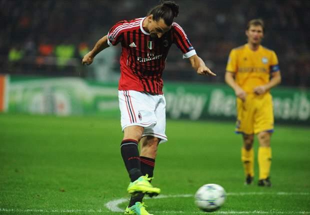 AC Milan 2-0 BATE Borisov: Ibrahimovic & Boateng ease Italian giants to comfortable Group H Victory