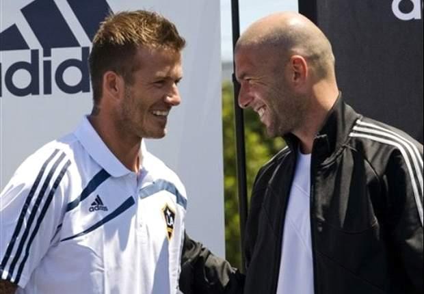 Zinedine Zidane: David Beckham Profesional Sejati