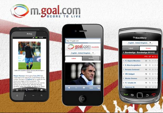 Goal.com macht mobil! Alle Infos zu Live-Spielen auf Deinem Handy