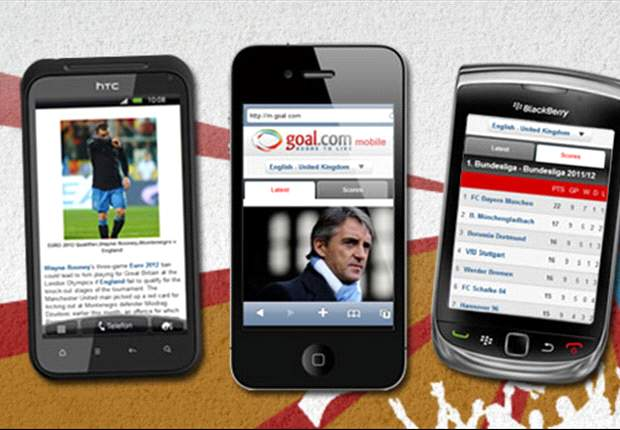 m.goal.com relaunches, bringing football news on your mobile phone