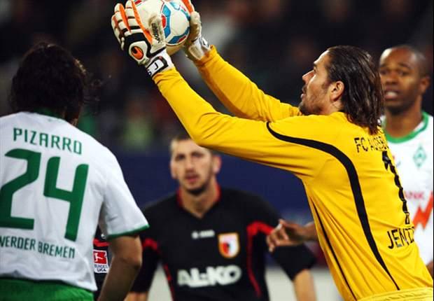 Jentzsch fehlt dem FC Augsburg beim Spiel auf Schalke
