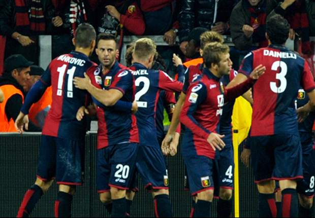 Juventus 2-2 Genoa: Late strike from Caracciolo cancels out Matri double as hosts miss chance to stretch lead at the top