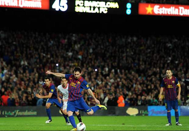 Paying the penalty - Lionel Messi's spot-kick conversion rate for Barcelona is simply not good enough