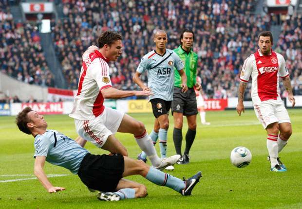 Ajax & Feyenoord Berbagi Angka Di Amsterdam