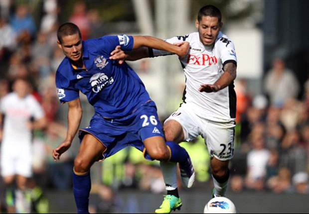 Fulham 1-3 Everton: Stoppage time strikes from Louis Saha and Jack Rodwell stun hosts as David Moyes' side leave it late