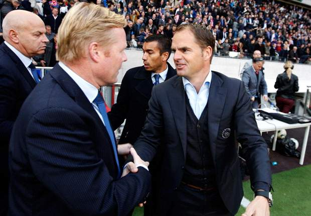 Koeman pays tribute to De Boer's 'complete' Ajax side