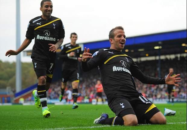 Rafael van der Vaart thrilled by his recent goalscoring form for Tottenham