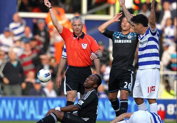 Chelsea cai diante do QPR