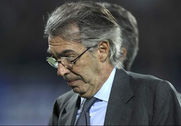 """Stramaccioni aveva puntato il dito contro Giannoccaro, Moratti lo sconfessa: """"Ma quale arbitro, a Udine l'Inter ha perso male"""""""