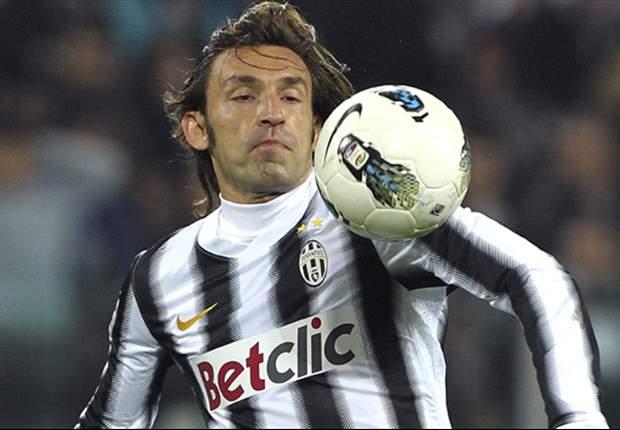 Juventus' Andrea Pirlo Doubtful For Lazio Match - Report