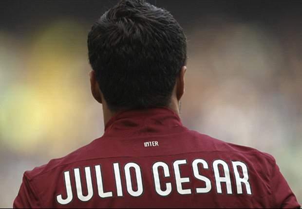 """Júlio César: """"Ik vertrek bij Inter"""""""