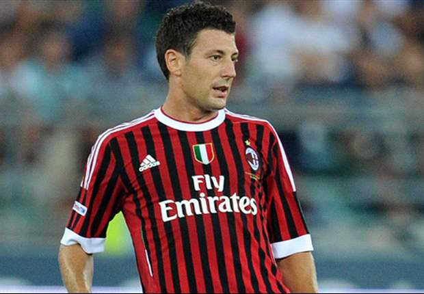 AC Milan's Daniele Bonera suffers head trauma