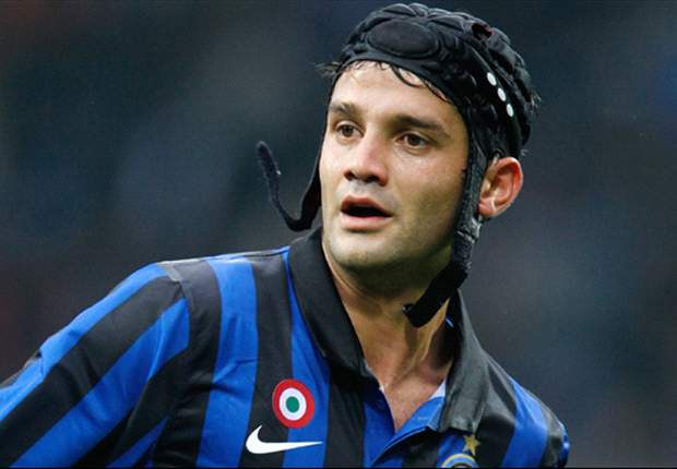 Cristian Chivu was already a weak link when Inter won the Champions League, now he's an utter disaster