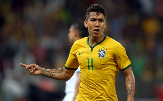 Roberto Firmino Brazil Honduras International Friendly 10062015
