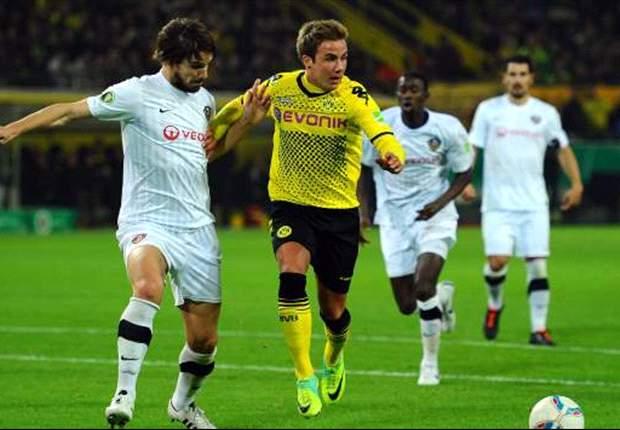 Dortmund siegt souverän und unspektakulär gegen Dynamo Dresden