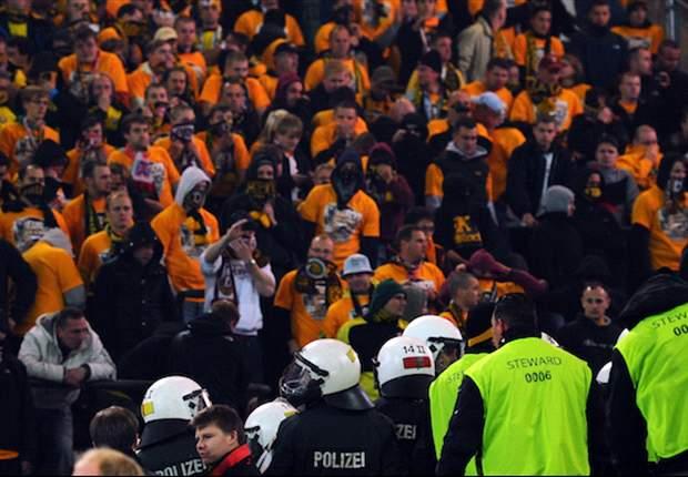 2. Bundesliga: Randale bei der Partie Union Berlin gegen Dynamo Dresden