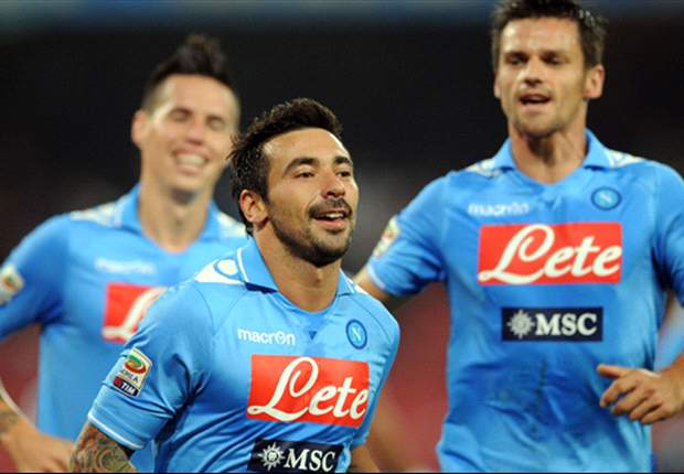 Napoli 2-0 Udinese: Lavezzi and Maggio inflict visitors' first defeat of the season