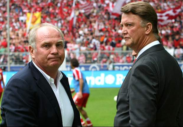 Van Gaal: Hoeness forced me out of Bayern Munich