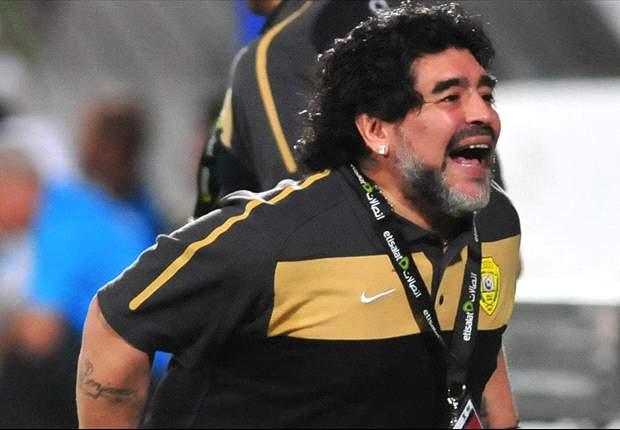 """Coppa Italia, sfida civile. Maradona esorta Juventus e Napoli a comportarsi come lui: """"Sono un simbolo di pace, domani voglio vedere lealtà in campo e tra i tifosi"""""""