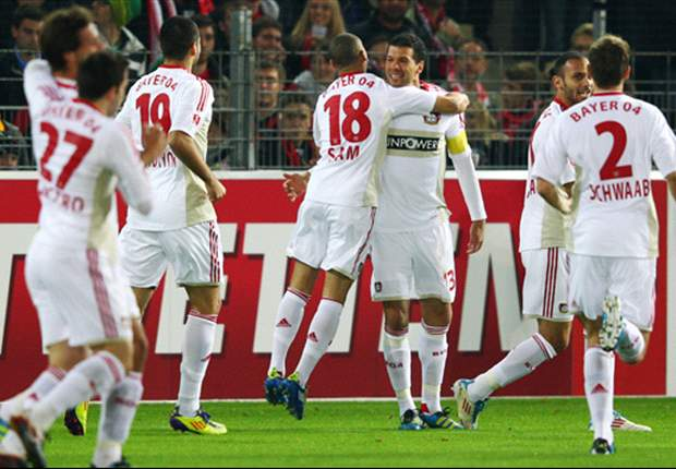 Freiburg 0-1 Bayer Leverkusen: Poor finishing from the hosts means Michael Ballack's early goal is enough for Robin Dutt's men
