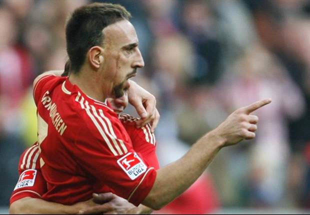 Bayern Munich's Franck Ribery could miss last Bundesliga game of 2011 after sustaining thigh injury