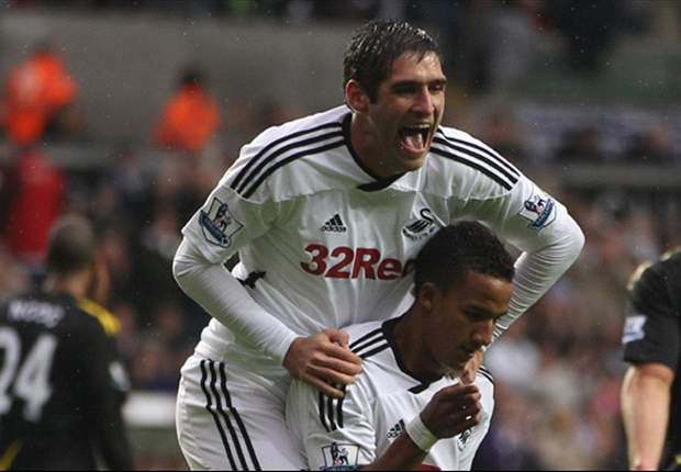 Swansea City striker Danny Graham looking for first away victory this season against Liverpool
